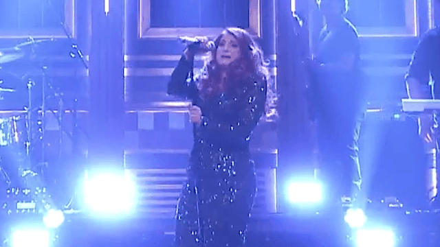 Meghan Trainor face-planted on 'The Tonight Show' and the Internet lost its mind.