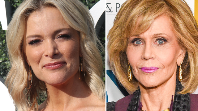 Megyn Kelly just opened her show with a savage attack on Jane Fonda.