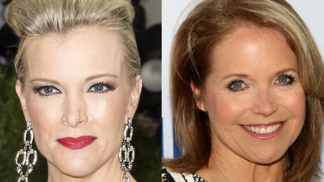 Megyn Kelly allegedly 'threw a fit' over Katie Couric getting to host the Olympics.