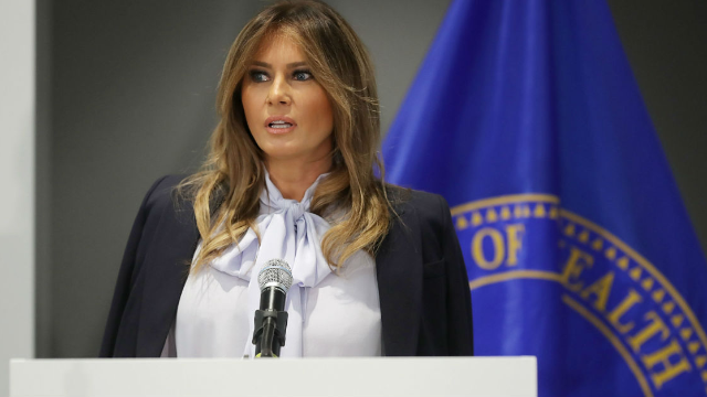 Melania Trump Slammed For Anti-Cyberbullying Comments After Donald's Twitter Tirades
