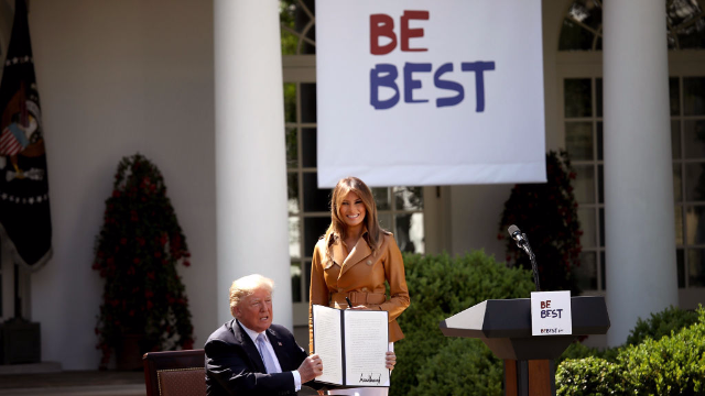 The internet is already the best at roasting Melania Trump's 'Be Best' slogan.