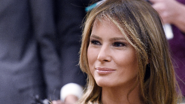 Melania Trump now has a wax figure and people think it looks like Caitlyn Jenner.