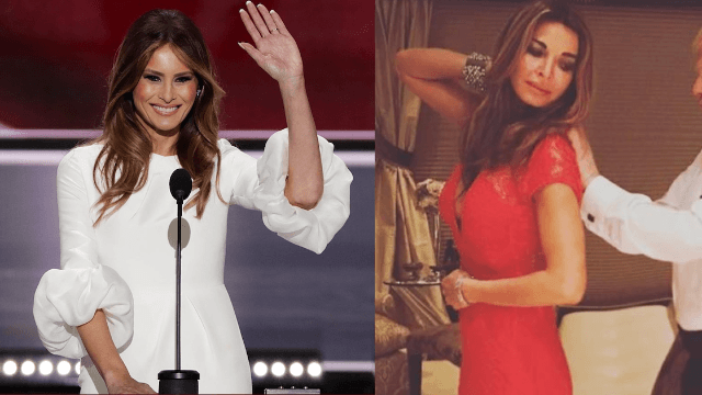 Meet the woman getting paid big bucks to look like Melania Trump.