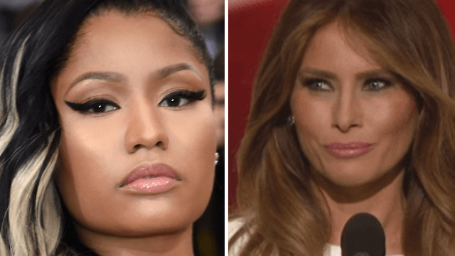 The Nicki Minaj—Melania Trump feud is over before it began.