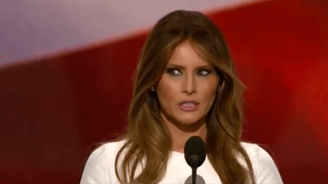 The best reactions to Melania Trump apparently plagiarizing her RNC speech about working hard.