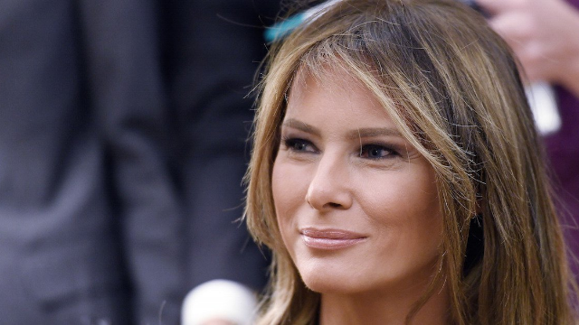 Melania Trump Makes Her First Public Appearance in Several Weeks