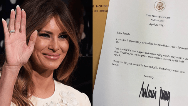 A Handwriting Expert Has An Eerie Claim About Melania Trumps Signature