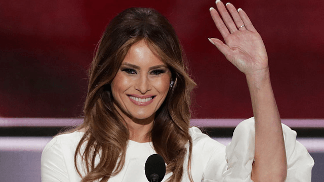 5 not plagiarized, not totally terrible things Melania Trump said at the RNC.