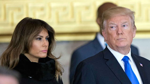 """Melania Trump breaks silence after being being """"missing"""" for two weeks, and Twitter is suspicious."""