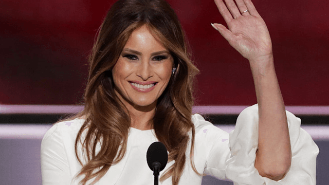 Melania Trump is installing a 'glam room' in the White House to look her best in case she ever visits.