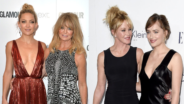 Ya girls from Hollywood's past & present mom/daughter combos are hanging for the holidays!