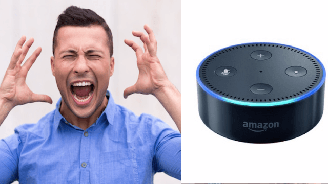 Some bros are threatened by this robot for the dumbest reason.
