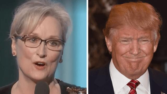 Watch and read Meryl Streep's full Golden Globes acceptance speech slamming Donald Trump.