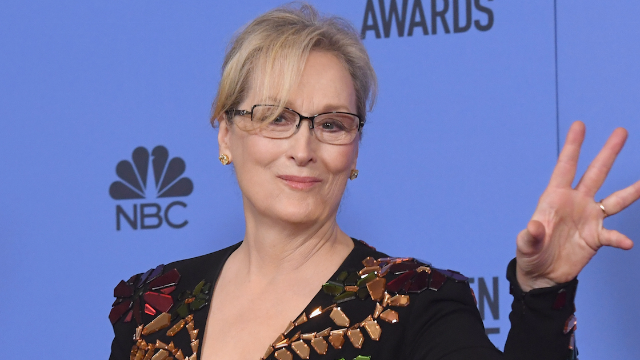 Meryl Streep calls out Melania and Ivanka Trump for their silence on #MeToo.