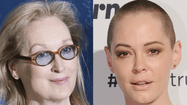 Meryl Streep responds to Rose McGowan calling her a hypocrite on Harvey Weinstein: 'I wasn't deliberately silent.'
