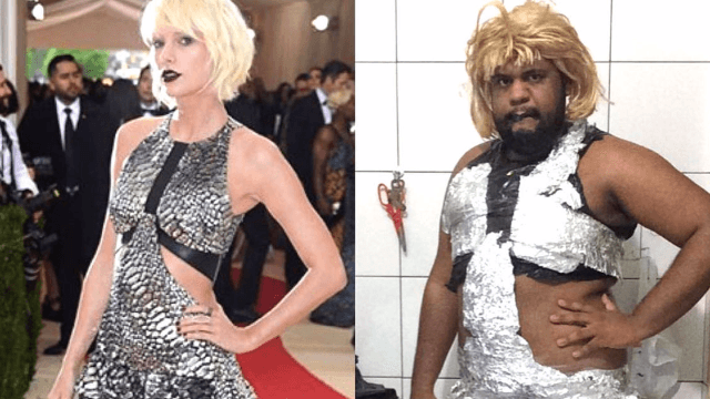 This dude slayed the 2016 Met Gala with his recreated celebrity outfits and he wasn't even there.