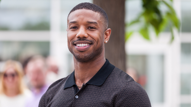 Woman's fake viral pic with Michael B. Jordan turned into reality. Anything is possible!