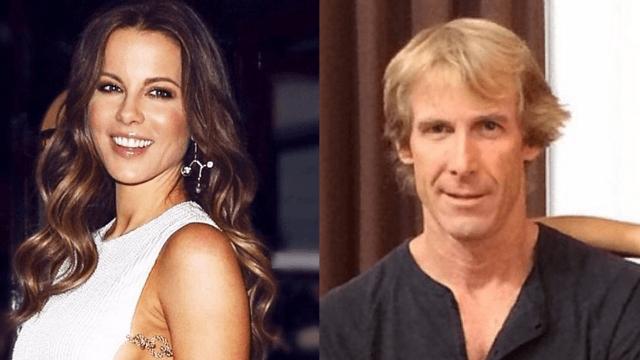 Michael Bay says he and Kate Beckinsale are chill, at least during Christmas and birthdays.