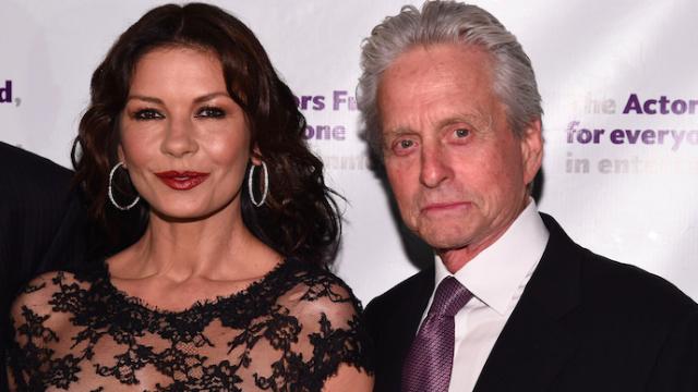 Michael Douglas regrets saying Catherine Zeta-Jones' genitals are a carcinogen.