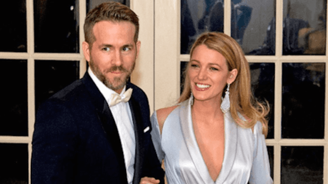 The ironic song Ryan Reynolds played while Blake Lively was in labor will make you laugh.