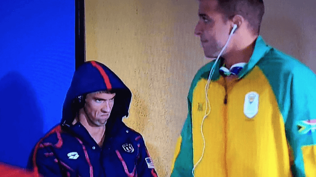 The 25 funniest Twitter reactions to Michael Phelps giving his rival the world's greatest stink eye.