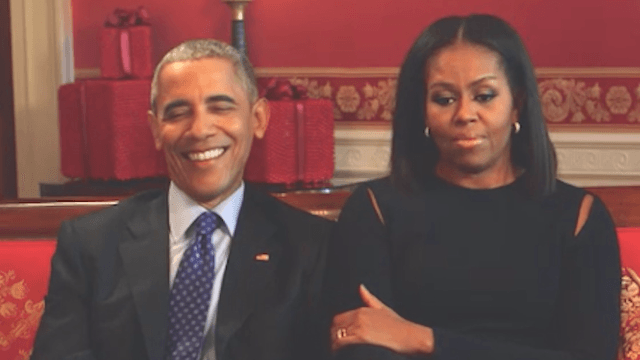 This is what Michelle Obama was doing on Election Night.