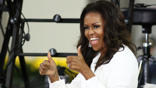 Jimmy Kimmel got Michelle Obama to say things she couldn't say as FLOTUS. She let loose.