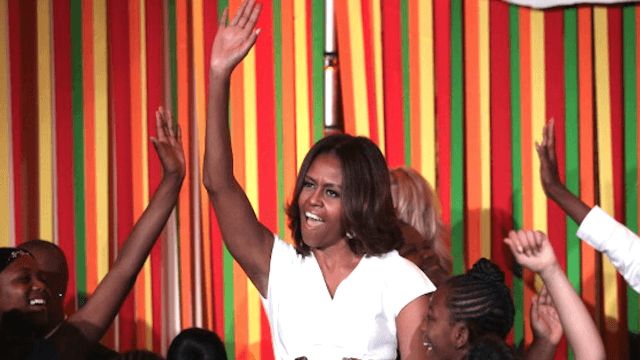Michelle Obama dropped a charity single featuring Kelly Clarkson, Zendaya, Janelle Monáe, and everyone else.