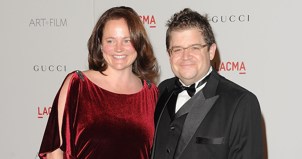 Michelle McNamara and Patton Oswalt