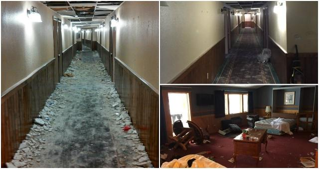 Michigan frat trashes ski resort, causing $50,000 in damages and some pretty insane photographs.
