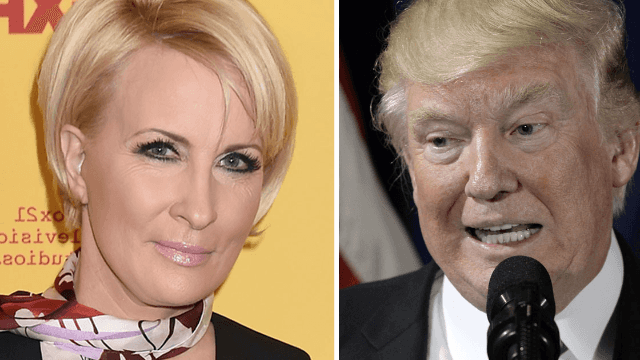 Mika Brzezinski strikes back at Trump and his body parts.