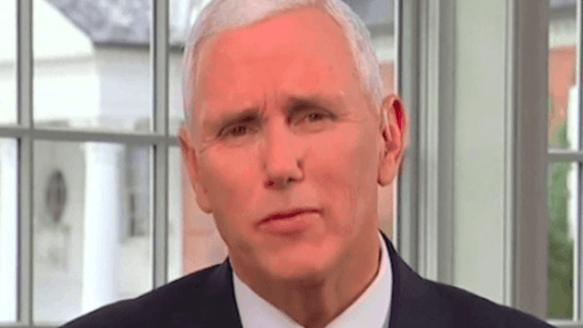 Unfortunate Mike Pence tweet now used against him after private email revelations.