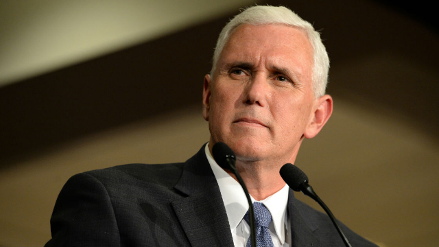 Mike Pence tells group to 'spend more time on your knees than on the internet.'