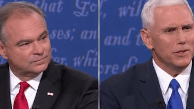 Mike Pence thanked nonexistent 'Norwood University' for hosting the VP debate.