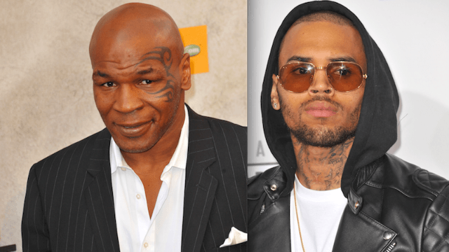 Mike Tyson will train Chris Brown for celebrity boxing match against Soulja Boy, coached by Floyd Mayweather Jr.