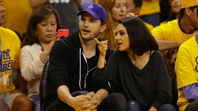 Mila Kunis and Ashton Kutcher welcomed their second genetically-blessed baby.