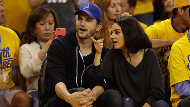 mila kunis and ashton kutcher dressed their kid in a that 70s show