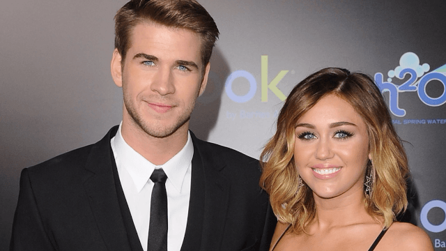 Miley Cyrus says Liam Hemsworth doesn't want you to call him a 'straight dude.'
