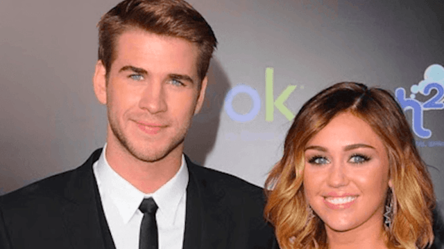 Miley Cyrus and Liam Hemsworth had everyone believing they were married for a minute.