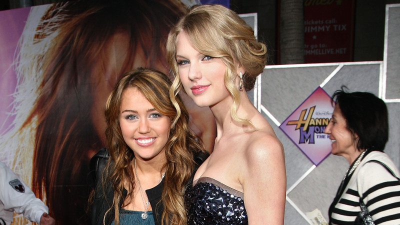 Miley Cyrus thinks Taylor Swift is setting a bad example for young women.