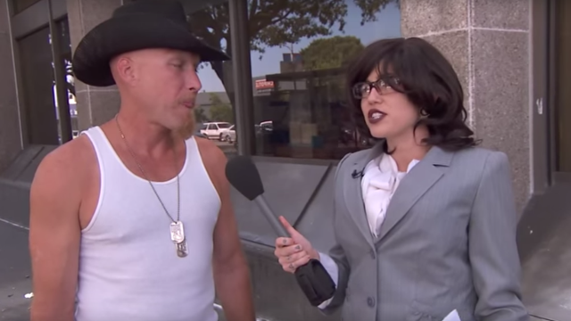 Miley Cyrus bravely went undercover to ask people what they think about Miley Cyrus.