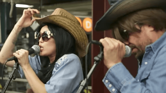 Miley Cyrus and Jimmy Fallon tried to go undercover and busk in the NYC subway. They're too famous.