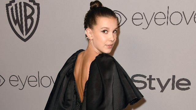 Did Millie Bobby Brown put a secret 'Stranger Things' message in her hair or is everyone insane?