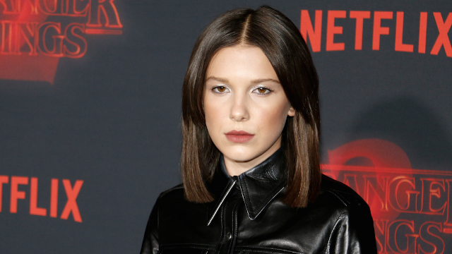 Millie Bobby Brown shuts down commenters who criticized her for wearing a tight dress.