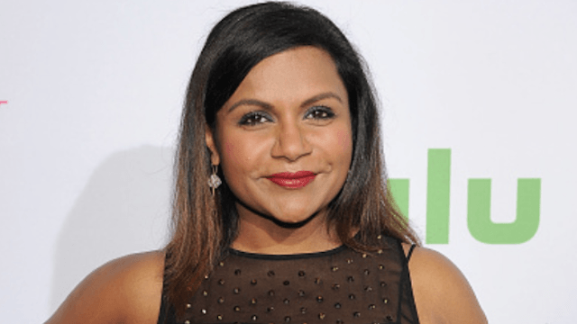 Mindy Kaling tweet points out sexist double standards in talking about parenting on TV.