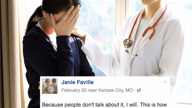 Woman shares personal photo to explain the consequences of a miscarriage no one talks about.