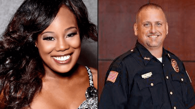 'Miss Black Texas' says police chief called her a 'black b*tch' and unlawfully arrested her.