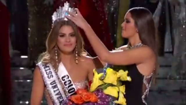 Miss Colombia responded to falsely being named Miss Universe, resists opportunity to fry Steve Harvey.