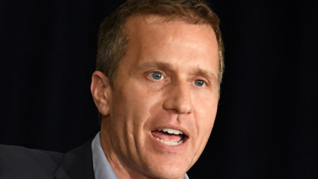 Married Missouri governor allegedly took a racy pic of his mistress for blackmail.