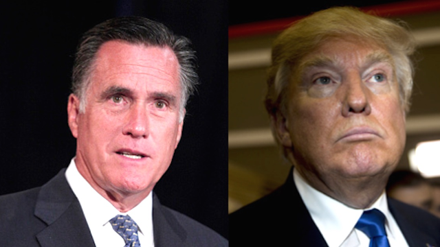 Mitt Romney slams Trump with some well-crafted disses as the GOP further descends into chaos.